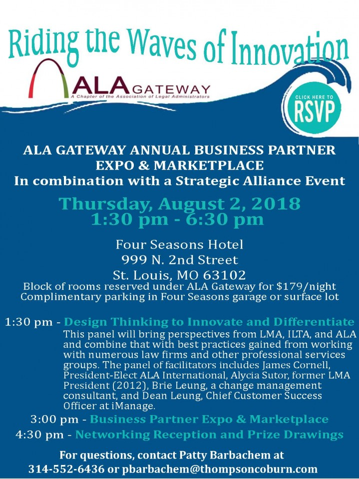 ALA Business Partner Expo & Marketplace flyer