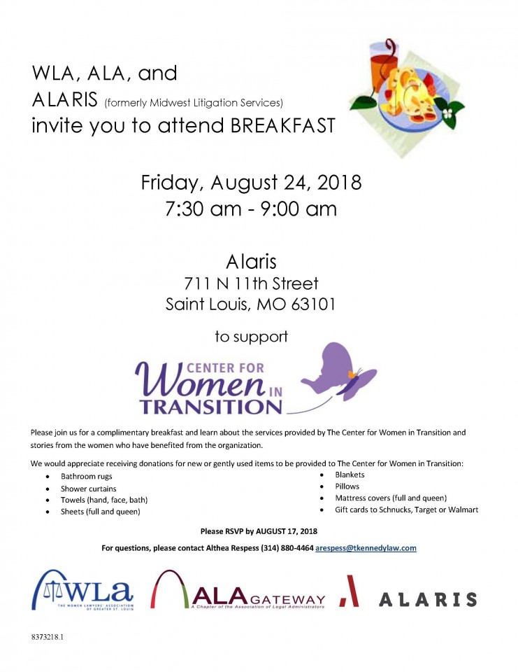 Women in Transition Breakfast