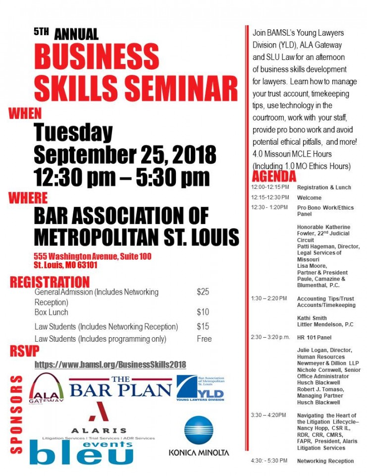 5th Annual Business Skills Seminar